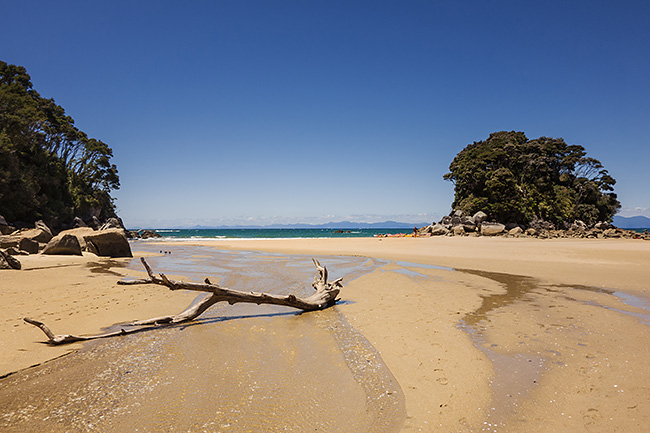 photo voyage nouvelle zelande abel tasman national park coast track rando randonnée trek kayak great walk