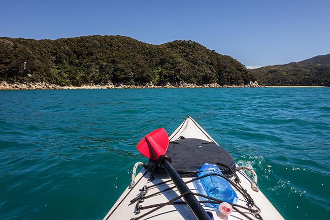 photo voyage nouvelle zelande abel tasman national park coast track rando randonnée trek kayak great walk