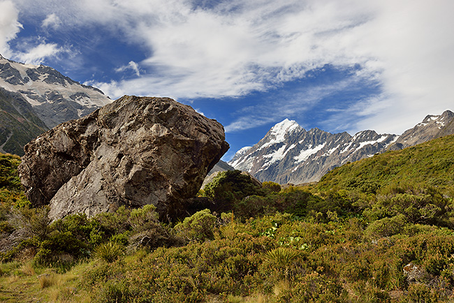 photo voyage nouvelle zelande mont cook aoraki