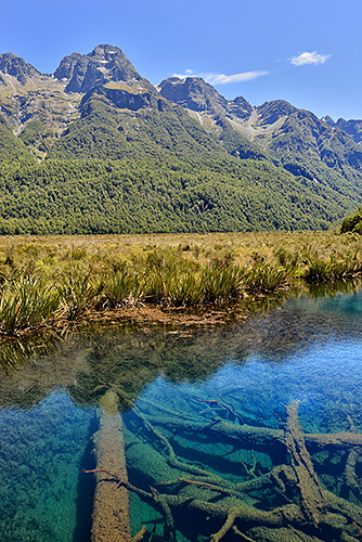 photo voyage nouvelle zelande fiordland mirror lakes