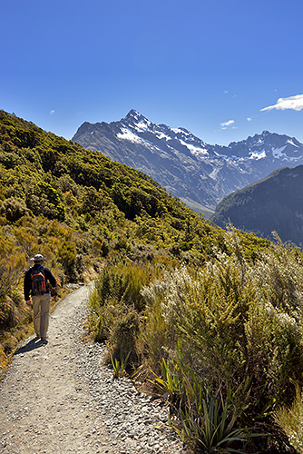 photo voyage nouvelle zelande fiordland routeburn track key summit