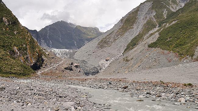 photo voyage nouvelle zelande cote ouest west coast ile sud franz josef fox glacier