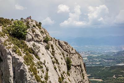 photo montagne alpes escalade grande voie baronnies hautes alpes orpierre maitre danse