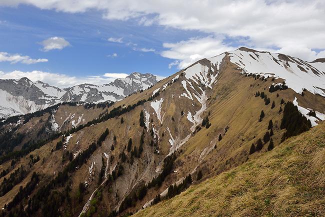 photo montagne alpes randonnée rando savoie albertville bauges parc du mouton