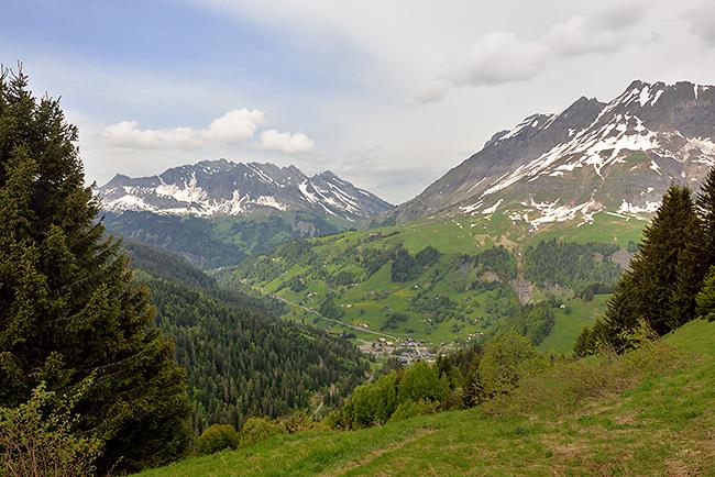 photo montagne alpes randonnée rando savoie bornes aravis megeve la giettaz croisse baulet