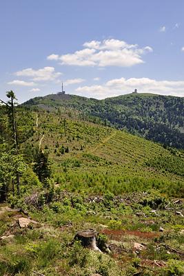 photo montagne randonnée pilat cret oeillon