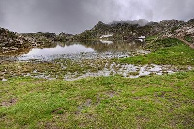 photo montagne alpes ecrins grandes rousses arves randonnée plateau emparis lac lerie