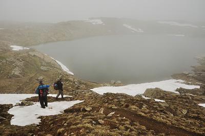 photo montagne alpes ecrins grandes rousses arves randonnée plateau emparis lac noir