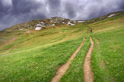 photo montagne alpes ecrins grandes rousses arves randonnée plateau emparis