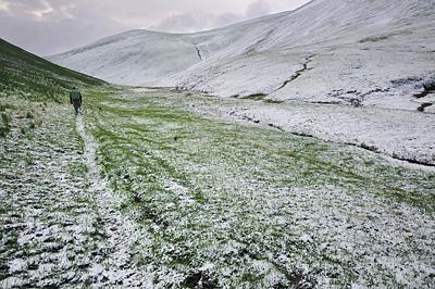 photo montagne alpes ecrins grandes rousses arves randonnée plateau emparis neige