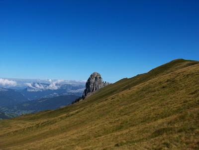 photo montagne alpes randonnée Pointe de Mandallaz aiguille de manigod