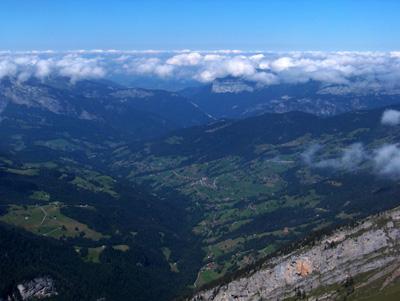 photo montagne alpes randonnée Pointe de Mandallaz sommet