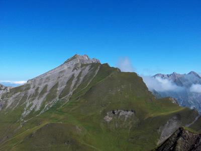 photo montagne alpes randonnée Pointe de Mandallaz sommet l'Etale