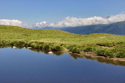 photo montagne alpes belledonne randonnée pointe de rognier lac des grenouilles
