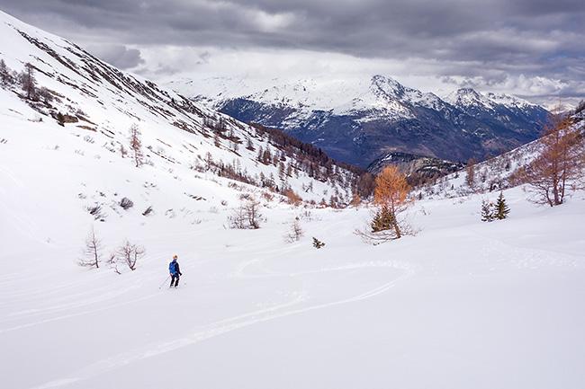 photo montagne alpes ski randonnée rando savoie maurienne grandes rousses karellis pointe emy