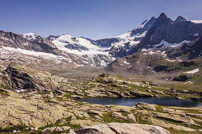 photo montagne alpes haute maurienne alpes grees glacier evettes