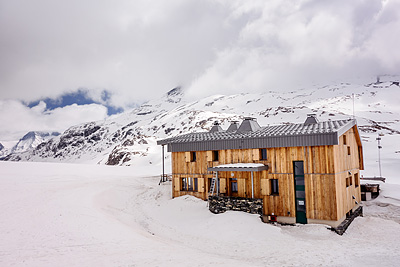 photo montagne alpes vanoise pointe rechasse refuge col vanoise felix faure