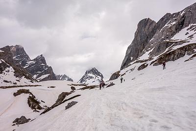 photo montagne alpes vanoise pointe rechasse lac vaches