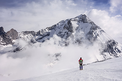 photo montagne alpes vanoise pointe rechasse grande casse
