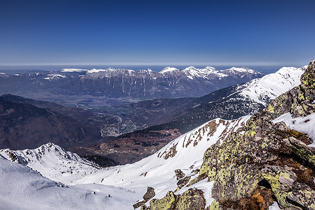 photo montagne alpes ski randonnée rando savoie tarentaise lauziere cheval noir grand arc celliers portes de montmélian