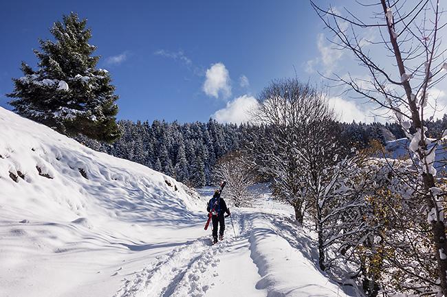 photo montagne alpes ski randonnée isere chartreuse grenoble pravouta