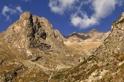 photo montagne alpes ecrins valjouffrey refuge font turbat lac pissoux cascade pisse