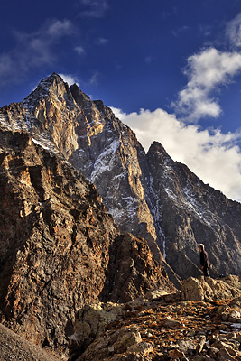 photo montagne alpes ecrins valjouffrey refuge font turbat lac pissoux olan