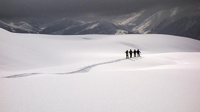 photo montagne alpes randonnée rando ski savoie beaufortain grand naves refuge nant du beurre