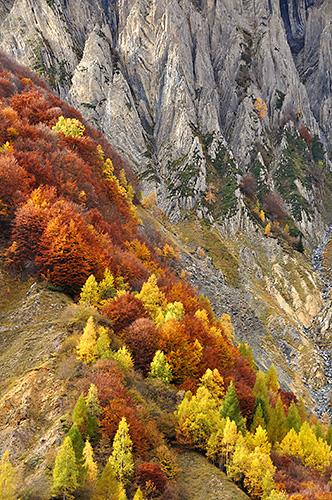 photo montagne alpes ecrins valgaudemar orgues