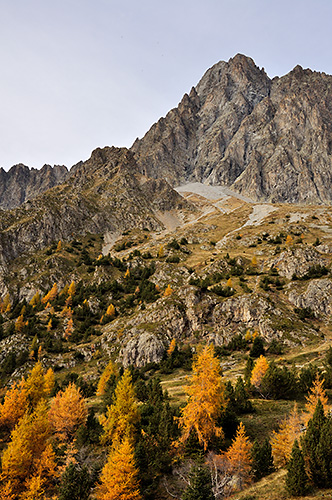 photo montagne alpes ecrins valgaudemar