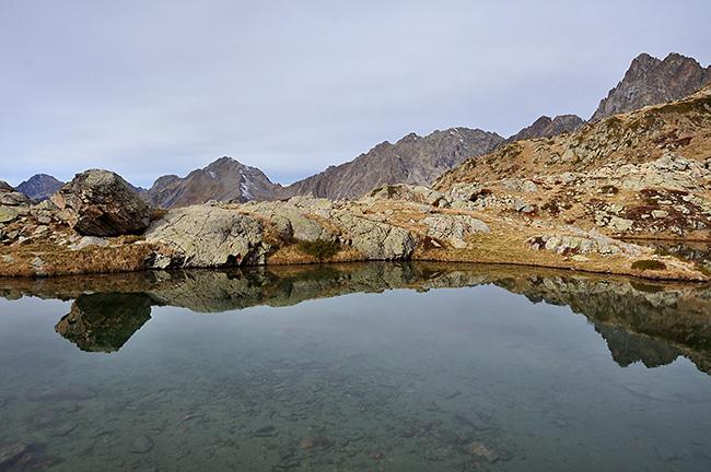 photo montagne alpes ecrins valgaudemar lac lautier
