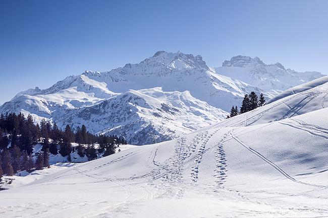 photo montagne alpes randonnee rando raquettes savoie beaufortain arêches cormet roselend col du pré roche parstire