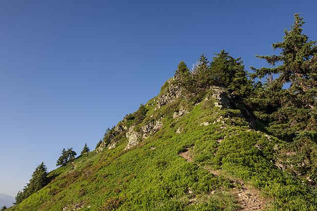photo montagne alpes randonnée rando savoie albertville beaufortain roche pourrie