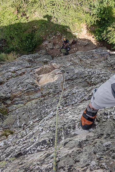 photo montagne alpes escalade grande voie ecrins rochez bez dalles briançon
