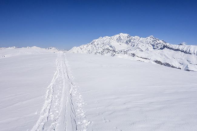 photo montagne alpes randonnée rando ski savoie beaufortain rochers enclaves