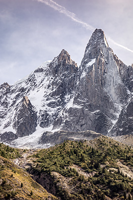 photo montagne alpes escalade mont blanc mer de glace rocher mottets