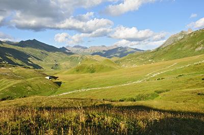 photo montagne alpes randonnée roselend plateau