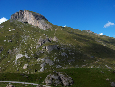 photo montagne alpes randonnée cormet de roselend