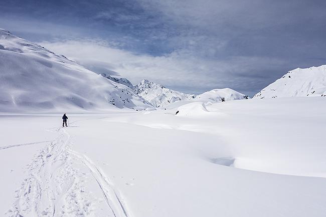 photo montagne alpes randonnée rando ski savoie haute tarentaise alpes grées ruitor