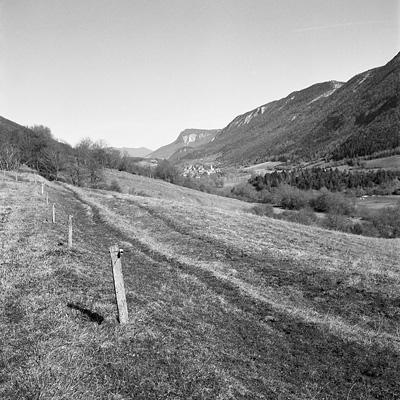 photo montagne alpes saint agnan en vercors paysage rolleiflex argentique
