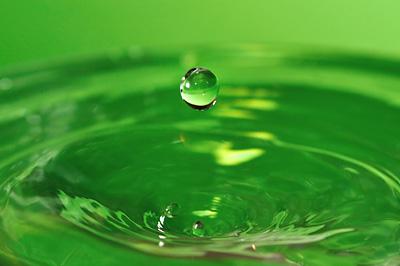 photo gouttes eau