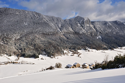 photo montagne alpes saint agnan en vercors