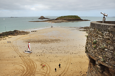 photo france bretagne normandie saint malo plage