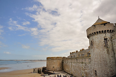photo france bretagne normandie saint malo remparts