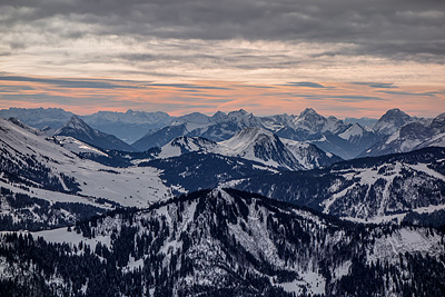 photo montagne alpes ski aravis grand bornand la clusaz
