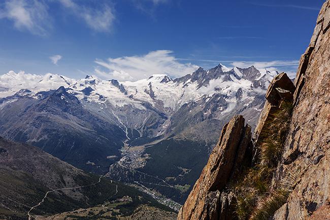 photo montagne alpes escalade grande voie suisse valais saasgrund jegihorn alpendurst