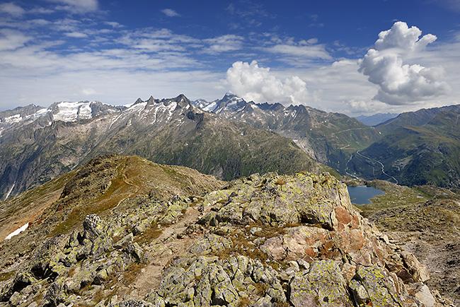 photo montagne alpes randonnée suisse valais grimsel sidelhorn