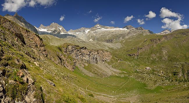 photo montagne alpes randonnée suisse valais zermatt edelweiss Hohbalmen