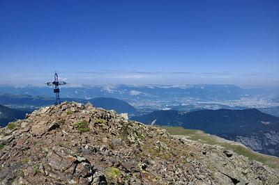 photo montagne alpes taillefer randonnée croix sergent pirelli