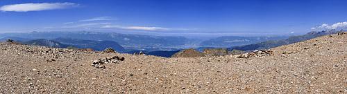 photo montagne alpes taillefer randonnée sommet panorama